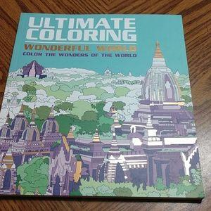 Ultimate Coloring Wonderful World